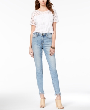 Joes Jeans The Charlie Ankle Frayed Skinny Jeans