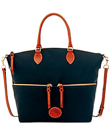 Dooney Bourke Nylon Large Pocket Satchel