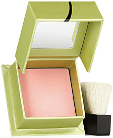 Benefit Cosmetics dandelion box o' powder travel-size blush mini