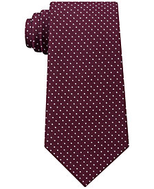 Tommy Hilfiger Men's Twill Pin Dot Silk Tie