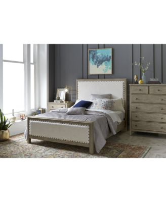 Lovely Furniture Parker Upholstered Bedroom Furniture, 3 Pc. Set (Queen Bed, Chest  U0026 Nightstand), Created For Macyu0027s   Furniture   Macyu0027s