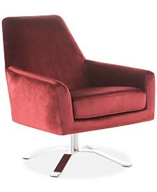 Henria Swivel Club Chair, Quick Ship