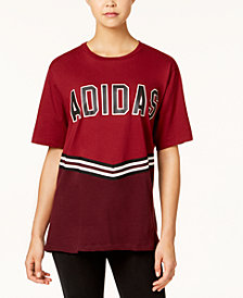 adidas Originals Cotton Relaxed Collegiate T-Shirt