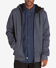 Element Men's Halton Heathered Zip-Front Hoodie