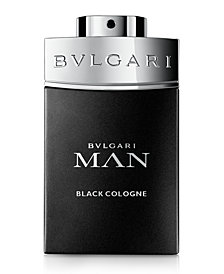 BVLGARI Man Black Cologne Men's Eau De Toilette Spray, 3.4 oz.