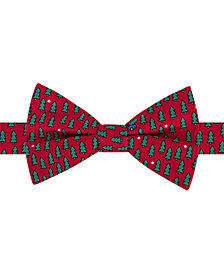Tommy Hilfiger Men's Tree Conversational Pre-Tied Silk Bow Tie