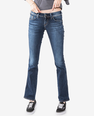 Silver Jeans Co. Curvy-Fit Slim Bootcut Jeans