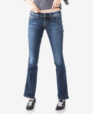 Silver Jeans Co. Curvy-Fit Slim Bootcut Jeans 5285243