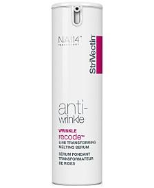 Anti-Wrinkle Wrinkle Recode Serum, 1-oz.