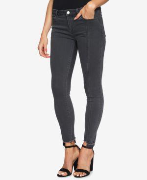 1.state Step-Hem Frayed Skinny Jeans 5407394
