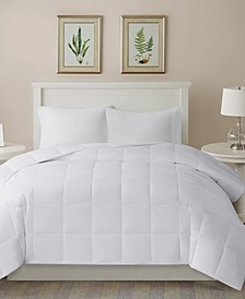 Warmer White 300-Thread Count Cotton Comforter