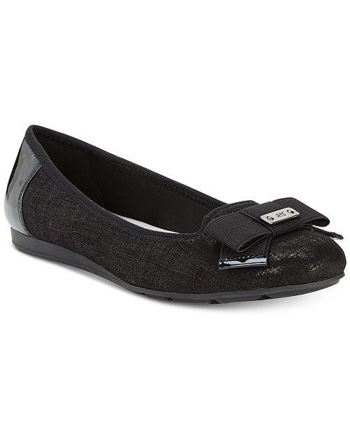 e05586554 Anne Klein Sport Alivia Slip-On Ballet Flats   Reviews - Flats ...