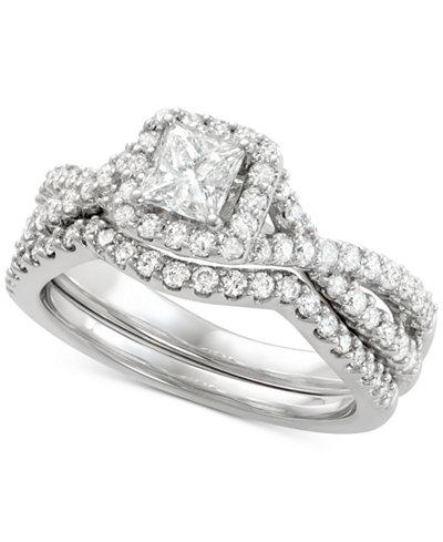Diamond Bridal Set (1-1/5 ct. t.w.) in 14k White Gold