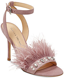 Ivanka Trump Kasie Feather Dress Sandals