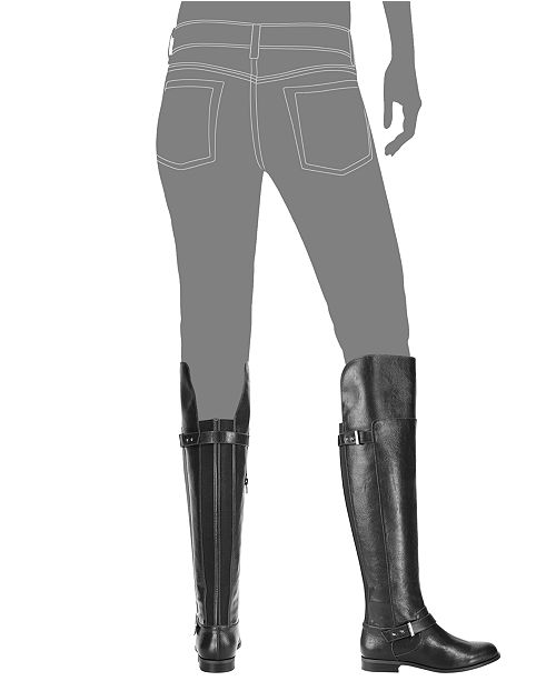 d0dc7f3f3 Over-the-Knee Bar Iii Womens Daphne Closed Toe Over Knee Riding Boots