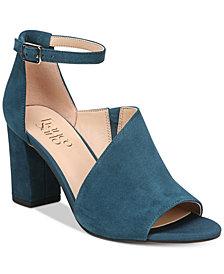 Franco Sarto Gayle Block-Heel Dress Sandals