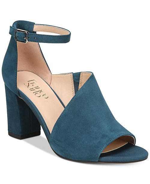 b563e29fcb08 Franco Sarto Gayle Block-Heel Dress Sandals   Reviews - Sandals ...