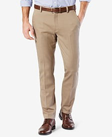 Men's Easy Slim Fit Khaki Stretch Pants