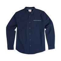 Levis Mens Bueller Dobby Twill Pocket Shirt (Blue Night)