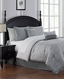 CLOSEOUT! Waterford Landon Platinum Comforter Sets