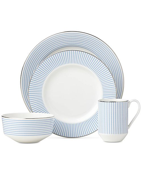 kate spade new york Laurel Street Collection 4-Piece Place Setting