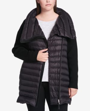 Image of Calvin Klein Performance Plus Size Puffer Coat