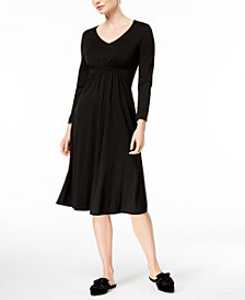 Weekend Max Mara Abano V-Neck Fit & Flare Dress
