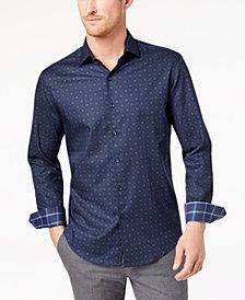 Tasso Elba Men's Cirene Tapestry-Print Shirt, Created for Macy's