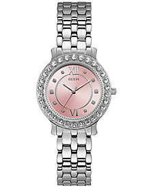 GUESS Women's Stainless Steel Bracelet Watch 34mm
