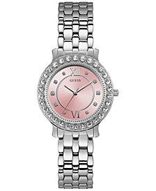 GUESS Women's Stainless Steel Bracelet Watch 34mm