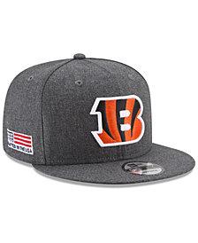 New Era Cincinnati Bengals Crafted In America 9FIFTY Snapback Cap