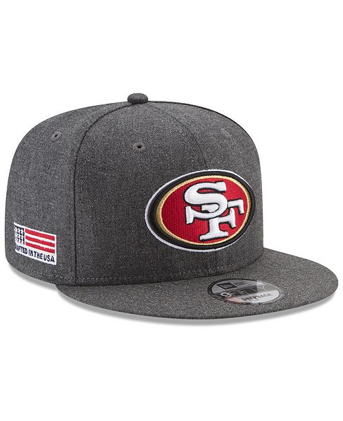 c4efb7c29d9 ... New Era San Francisco 49ers Crafted In America 9FIFTY Snapback Cap ...