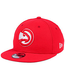 New Era Boys' Atlanta Hawks Basic Link 9FIFTY Snapback Cap
