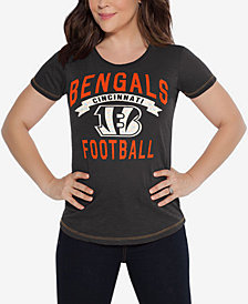 Touch By Alyssa Women's Milano Cincinnati Bengals MVP T-Shirt