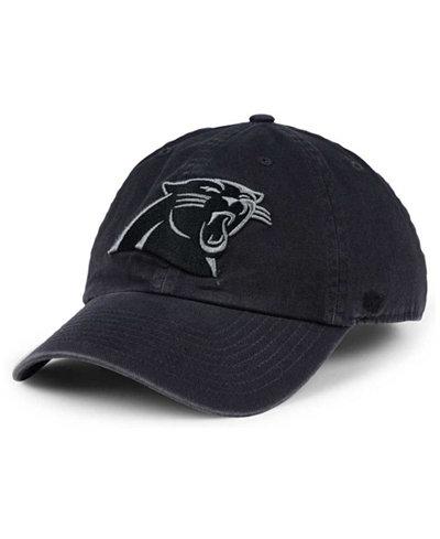 '47 Brand Carolina Panthers Dark Charcoal CLEAN UP Cap
