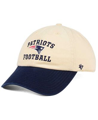 '47 Brand New England Patriots Steady Two-Tone CLEAN UP Cap