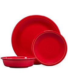Fiesta 3-Pc. Classic Scarlet Set