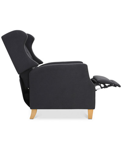 Varena Recliner Club Chair, Quick Ship