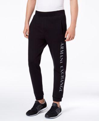 |X Armani Exchange Men's Logo-Print Sweatpants