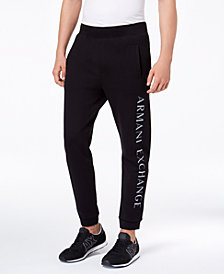 A|X Armani Exchange Men's Logo-Print Sweatpants