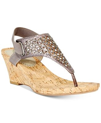 Image result for Arnette Embellished Wedge Sandals