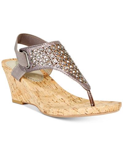 Image result for Arnette Embellished Wedge Sandals