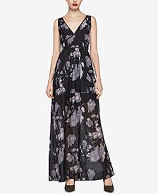 BCBGeneration Floral-Print Maxi Dress