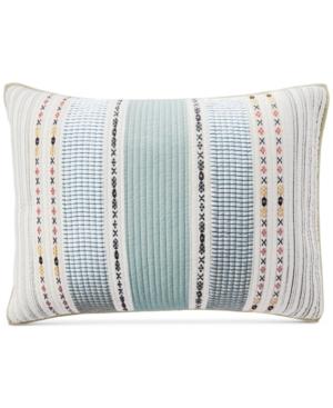 Martha Stewart Collection Cotton EarthTone Stripe Standard Sham Created for Macys