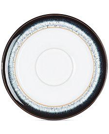 Denby Dinnerware, Halo Wide Rimmed Tea Saucer