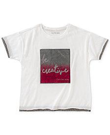 Calvin Klein Be Creative T-Shirt, Big Girls