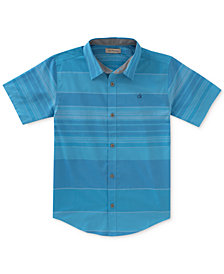 Calvin Klein Fragment Striped Shirt, Big Boys