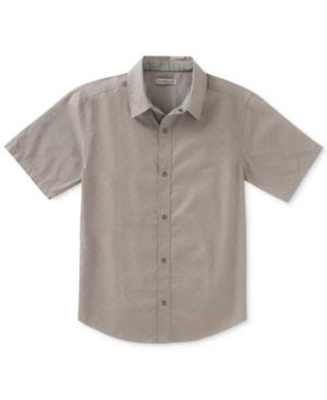 Calvin Klein Printed Denim Shirt Big Boys (820)