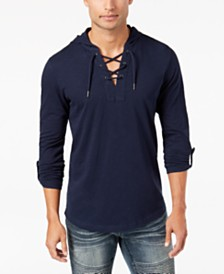 I.N.C. Men's Hooded T-Shirt, Created for Macy's