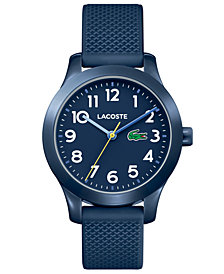 Lacoste Kids' 12.12 Blue Silicone Strap Watch 32mm